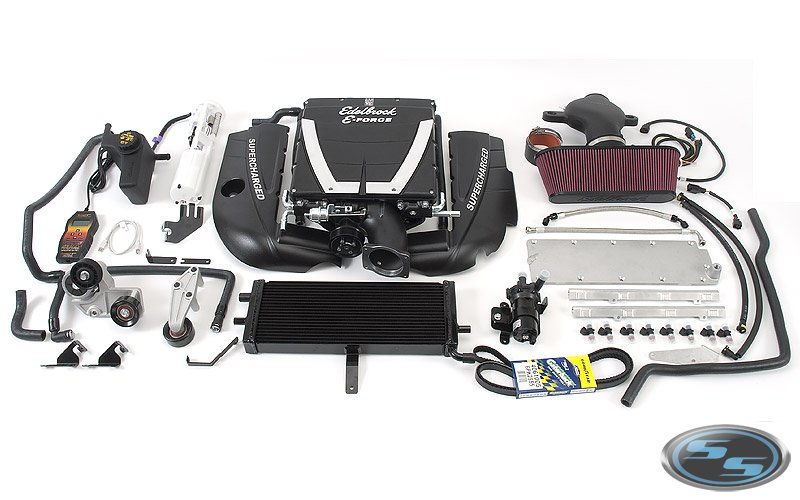 E-Force 2005-2007 Corvette 599 HP Complete Supercharger Kit - Click Image to Close