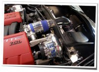 Vortech 2006-2008 LS7, 2008 LS3 V-2 T-Trim System Polished