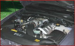 Magnacharger 2004 Pontiac GTO LS1 Silver Finish