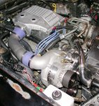 Paxton 1985 302 Carbureted Mustang System Satin