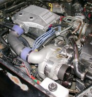 Paxton 1985 302 Carbureted Mustang System Polished