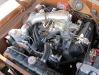 Paxton Big Block Mopar Carbureted System Polished
